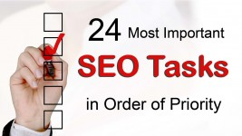 24 Most Important SEO Tasks in Order of Priority